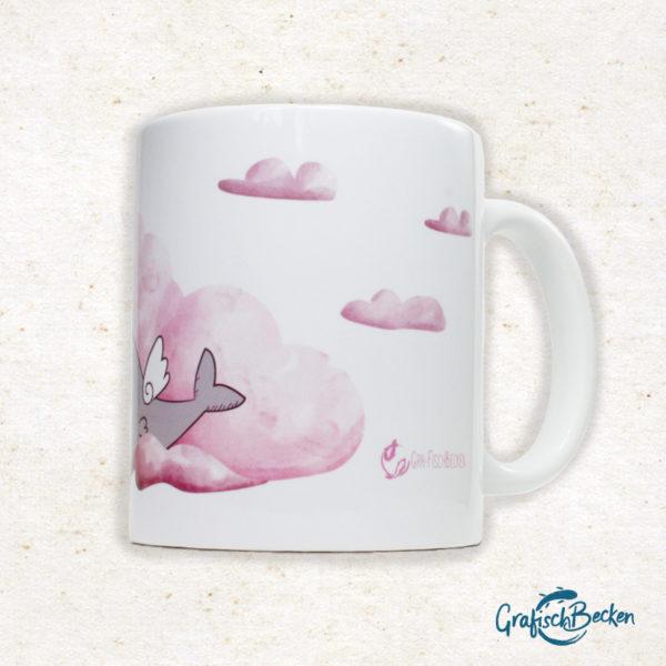 Tasse Kaffee Tee Getränk Geschenk Freundschaft Illustration Illustratorin Catharina Voigt GrafischBecken