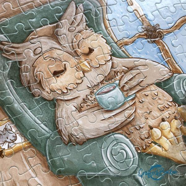 Puzzle Eule 192 Teile