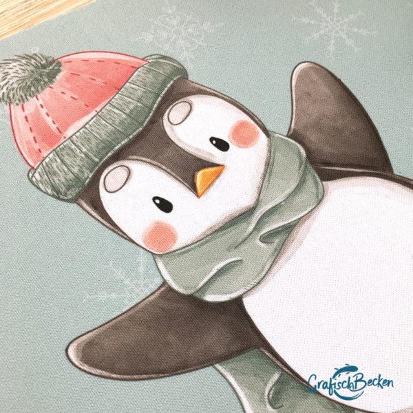 Mauspad Pinguin Winterspaß