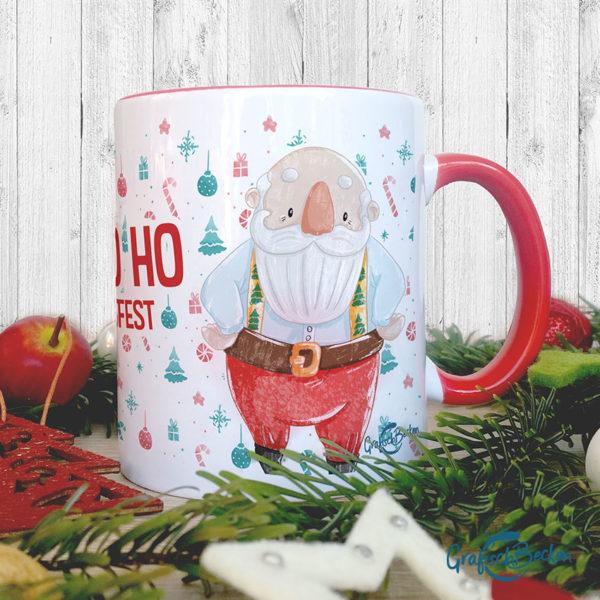 Weihnachtstasse - Weihnachtsmann